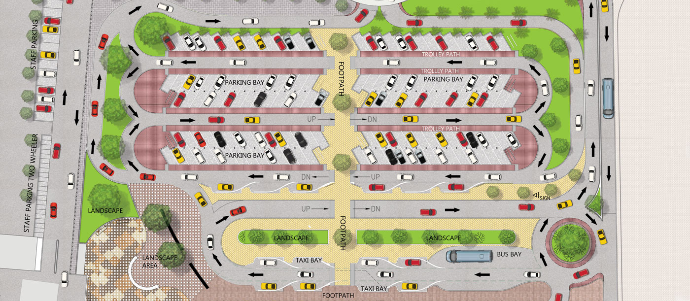 Airport Parking & Circulation Design