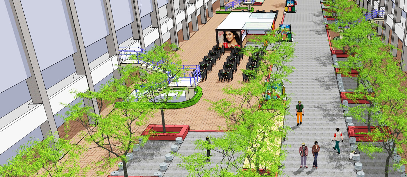 Nehru Place Placemaking Project